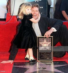 US actor David Hasselhoff is hugged by his old daughter Hayley Amber 11 January during a ceremony honoring him with a star on the Hollywood Walk of Fame. Hasselhoff stars in the. Hollywood High School, Hollywood Walk Of Fame, Hero Movie, Movie Tv, Good People, Amazing People, Baywatch, Universal Studios, Knight