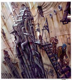 Enjoy a Gallery of 70 Original Concept Art Gallery made for the classic trilogy: The Matrix. The gallery is featuring artworks from Goerge Hull, Steve Burg