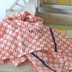 Etole Zig Zag rouge Atelier LZC - deco-graphic.com