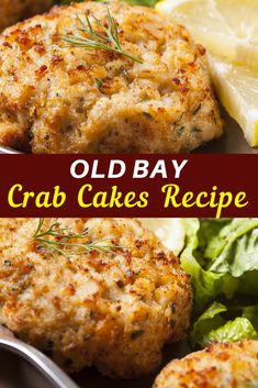This easy crab cake recipe has just 7 simple ingredients and is ready in 35 minu. - This easy crab cake recipe has just 7 simple ingredients and is ready in 35 minutes. Packed with lumps of juicy crab meat, savory seasonings, and flaky breadcrumbs. Crab Cake Recipes, Fish Recipes, Cajun Crab Cake Recipe, Easy Crab Meat Recipes, Crab Cakes Recipe Best, Healthy Seafood Recipes, Lobster Recipes, Recipies, Bon Appetit