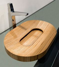 Wooden sink by PlavisDesign