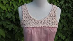 crochet yoke for dress or top...love this!