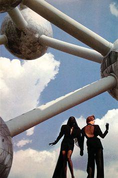 Thierry Mugler 1987 for Vogue Paris
