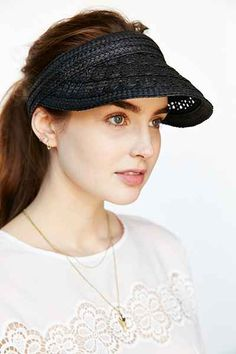 Shop our selection of women's hats, featuring beanies, bucket hats, baseball hats, fedoras and brimmed hats. Crochet Shoes Pattern, Crochet Patterns, Crochet Summer Hats, Crochet Hats, Bennies Hats, Sombrero A Crochet, Summer Hats For Women, Crochet Accessories, Bandana