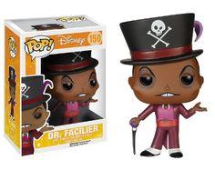 DISNEY - Bobble Head POP N° 150 - Dr Facilier