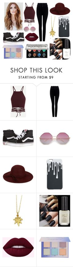 ☯ Like a crushed leaf, On the concrete night☯ by fuwafuwakush on Polyvore featuring beauty, Urban Decay, COLLECTION 18, Citizens of Humanity and Vans