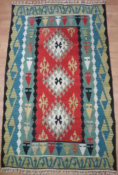 Turkish Kilim Rug Kilim Ottoman 3.67 x 5.97 ft ( 112 x 182 cm) Area Rug Floor Rug Tapis キリム Alfombra Rug Tapestry Kelim Teppich Oriental Rug