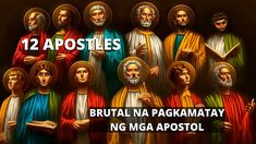 Paano Namatay Ang Mga Apostol ni Jesus Christ- #boysayotechannel Jesus Christ, Catholic, Bible, Entertainment, Angel, Videos, Youtube, Biblia, Youtubers