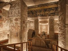 Ramesses VI Burial Chamber inside the Valley of the Kings in Luxor, Egypt. Picture: www.jakubkyncl.com