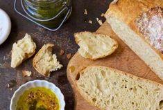 Crusty Bread Recipe No Knead.Miracle No Knead Bread Recipe Pinch Of Yum. No Knead Crusty Bread 4 Ingredients Living Sweet Moments. Crusty Rustic Bread {It's No Knead! Crusty White Bread Recipe, Roi Arthur, Yeast Bread Recipes, Flour Recipes, Baking Stone, King Arthur Flour, Oven Racks, Artisan Bread, Bread Baking