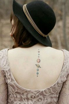 planets tattoo spine - photo #29