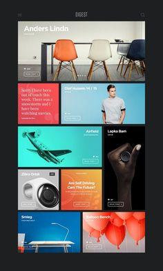 Digest by Oliur . Web Design Lovers . UI . UX . Trend of 2015