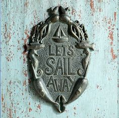 Browse Bella Coastal Decor today and take markdowns up to on beach wall art, for instance this Sail Away Sea Life Wall Hanging! Beach Theme Wall Decor, Beach Wall Art, Beach Themes, Hanging Wall Art, Wall Hangings, Sail Away, Door Knockers, Coastal Decor, Decorative Items