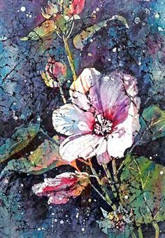 Sandy Maudlin: EXPLORING BATIK AND WATERCOLOR