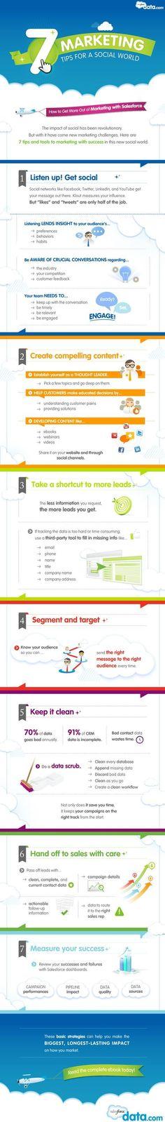 social marketing salesforce
