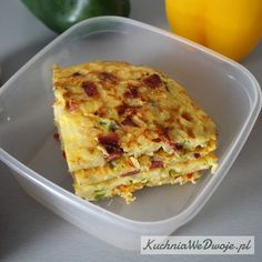 drugie śniadanie Quiche, Macaroni And Cheese, Lunch Box, Nutrition, Breakfast, Ethnic Recipes, Fitness, Food, Diet