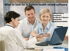 What to look for in Patient Health Records software? To read more http://75health-phr.blogspot.in/2016/03/what-to-look-for-in-personal-health.html