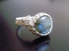 wire+wrapped+ring+tutorial | Cabochon Curves Wire Wrapped Ring Tutorial from Crossed Wires Jewelry ...