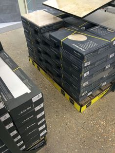 Boxes Of Tiles