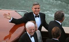More Photos from George Clooney and Amal's wedding - REPORTNG.COM