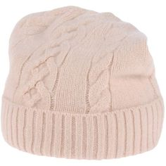 Paul & Joe Sister Hat ($61) ❤ liked on Polyvore featuring accessories, hats, light pink, beanie cap, wool beanie hat, wool beanie, wool hat and woolen hat