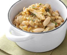 chicken + white bean chili | photo by: Karen Covey
