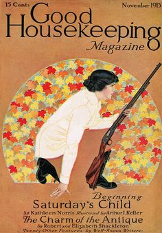 Coles Phillips : Cover art for Good Housekeeping, November 1913