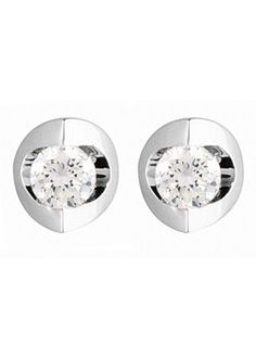 Canadian Ice Gold Tension Set Diamond Earrings Are Available At Goldsmiths To Online In Our Range Of