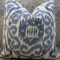 3BM Designer Pillow Cover Lumbar, 16 x 16, 18 x 18, 20 x 20, 22 x 22, 24 x 24 - Rylee Ikat Suzani Jacquard by 3BModLiving on Etsy https://www.etsy.com/listing/173010135/3bm-designer-pillow-cover-lumbar-16-x-16