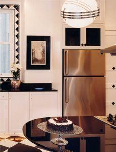Art deco on pinterest art deco kitchen art deco for Art deco interior design kitchen