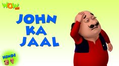 John disguises as uncle John donathan and invites Motu Patlu to akeli haveli for his b'day celebration. He intends to turn them into dogs. When Motu Patlu arrive, they notice that the host is nobody else but John and his goons. They trick them into their own traps and flee from there. Watch how! https://youtu.be/Kwu3HBI8le0