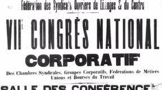 XVIIIe et XIXe siècle, aux origines du syndicalisme...