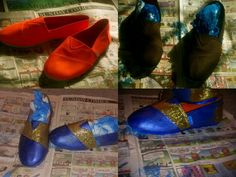 Diy toms shoe design for under 15 dollars !!
