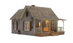 Old Homestead - O Scale - O Scale - Woodland Scenics - Model Layouts, Scenery, Buildings and Figures