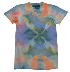Camisetas con motivos - Camiseta Chico Estampado Abstracto - estampado a mano por indigoestampacion en DaWanda