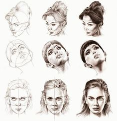 Image result for portraits different angles