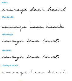 Bildresultat för font tattoo pretty minimalist