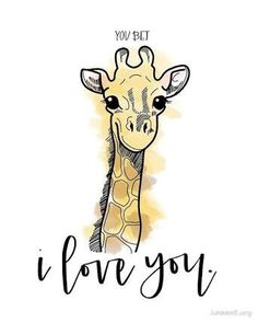 Cute Giraffe Love Quotes - I Really Do Love You Giraffe Pictures Giraffe Drawing Giraffe Art Cute Giraffe Quotes Quotes Giraffe Quotes Funny Quotes Life Quotes Giraffe Nursery W. Giraffe Nursery, Giraffe Art, Elephant, Cute Giraffe Drawing, Giraffe Pictures, Animal Pictures, Jungle Animals, Cute Animals, Giraffe Quotes