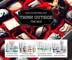 """Gentlemen! Chuck the chocolate this Valentine's Day and give her something to make her feel beautiful all year long! Let me help you select the perfect Rodan + Fields skin care Regimen for your """"better half.""""  Ladies! Tag your guy on this post to let him know what you REALLY want! I'll get to work behind the scenes to make sure Cupid comes through with a winning gift. Shop for your husband, boyfriend, mom, dad, sister, daughter, brother, babysitter, teacher and coach too! Anyone with skin!"""
