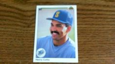 UPPER DECK 1990 HENRY COTTO CARD 207 MARINERS