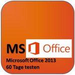 Microsoft Office 2013 für 60 Tage testen