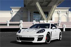 Porsche Panamera Stingray White ADV.1