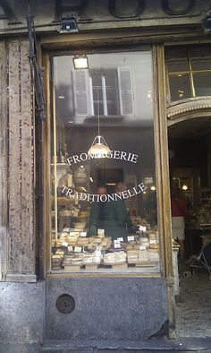 Carte Blanche: Vicarious France 1 - Food I've been in this store in St Germain En Laye, France. Boutiques, Fromage Cheese, French Cheese, Cheese Shop, France 1, Paris France, Shop Fronts, Shop Around, Queso
