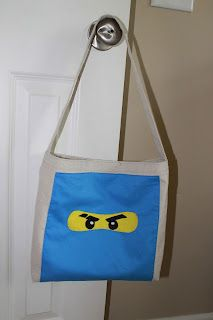 Ninjago bag pattern