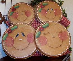 Christmas Gingerbread Stove Covers  Painting by Paintingonjars