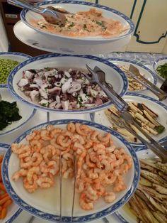 """Cena, Ristorante di """"Grand Hotel Punta Morino Terme"""", Ischia Porto, Isola Ischia,Italia (Maggio)"""