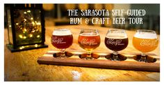 Our Sarasota Rum & Craft Beer Self-Guided Tour!