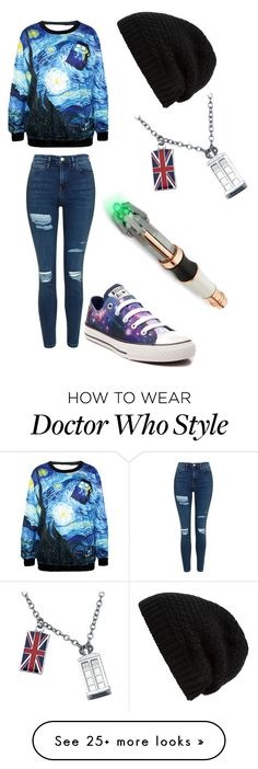 """Casual doctor who"" by kaataarinaa on Polyvore featuring Topshop, Converse and Rick Owens"