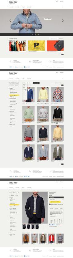 SimpleStory / Интернет-магазин, Сайт © КириллЕмельянов