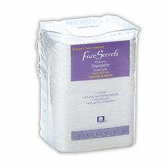 Face Secrets Cotton Cleansing Pads. Awesome cotton pads, large enough to take off masks